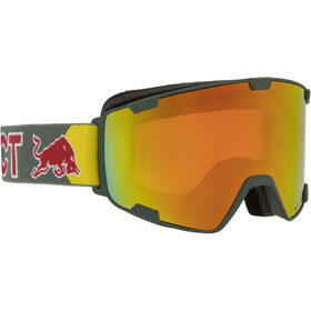 Red Bull SPECT Park Gogle, olive green/red snow